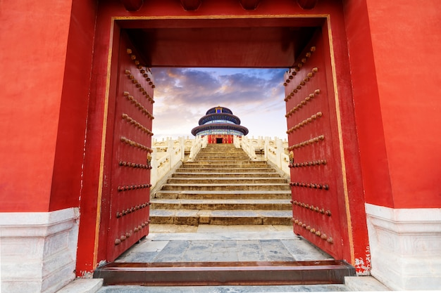 Templo del cielo en beijing, china