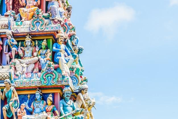 Templo hindú indio en singapur