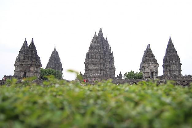 Templo de prambanan en la historia de yogyakarta