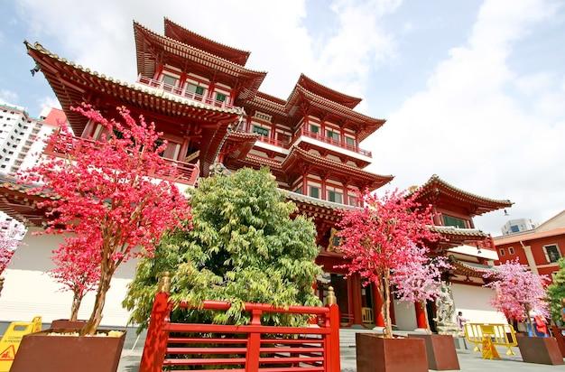 Templo de la reliquia del diente de buda de singapur