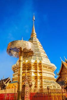 Templo del templo doi suthep en chiang mai en tailandia