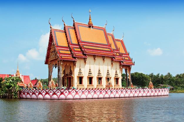 Templo de wat chalong en phuket