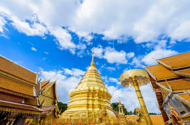 Templo de wat phra that doi suthep