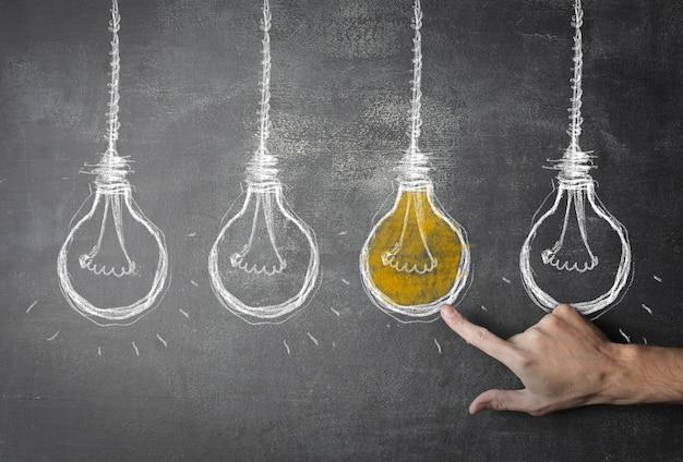 Tener ideas diferentes