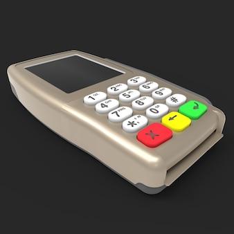 Terminal de pago con tarjeta