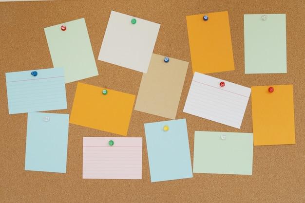 Textura abstracta del tablero del corcho para la tarjeta de papel del contexto