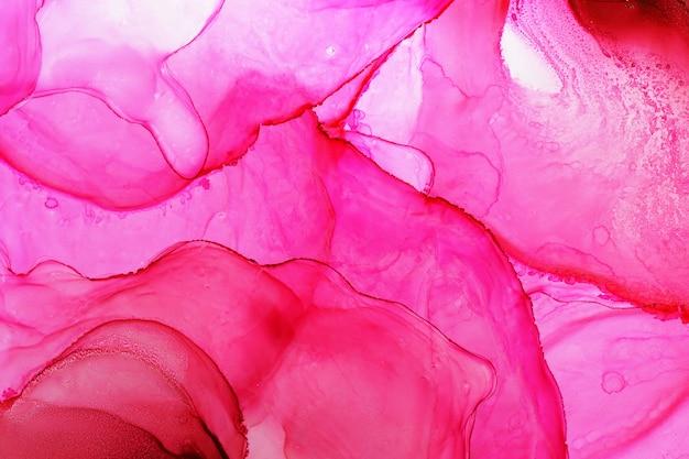 Textura abstracta de tinta de alcohol
