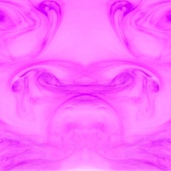 Textura de acrílico simétrica rosa de fondo con el patrón