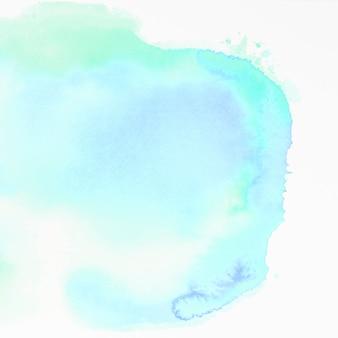 Textura de acuarela sobre fondo blanco