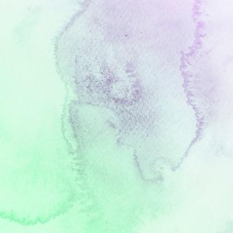 Textura de acuarela verde y púrpura.