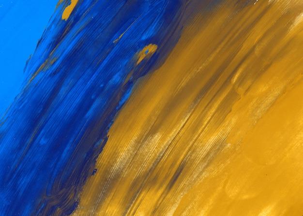 Textura azul y amarilla.