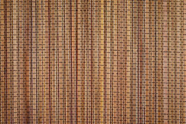 Textura de bambú luz de fondo y color natural.