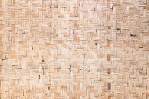 Textura de bambú tejido