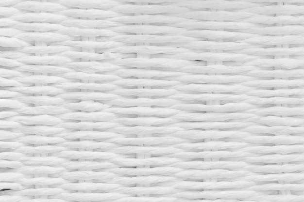 Textura blanca de mimbre