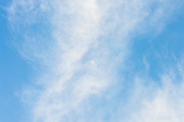 Textura blanco cielo azul