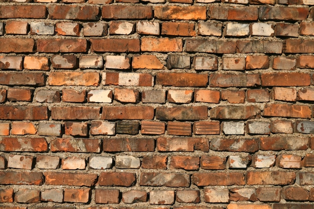 Textura de bloques de fondo de pared de ladrillo
