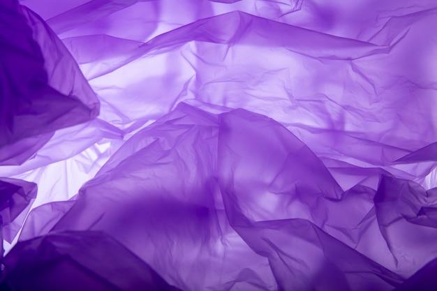 Textura de bolsa de plástico. antecedentes.