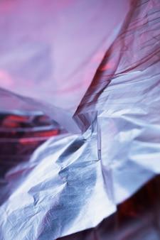 Textura de la bolsa de plástico