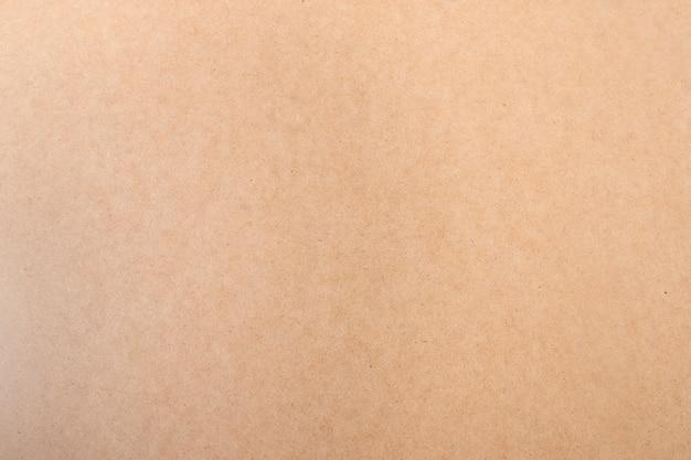 Textura de caja de cartón marrón