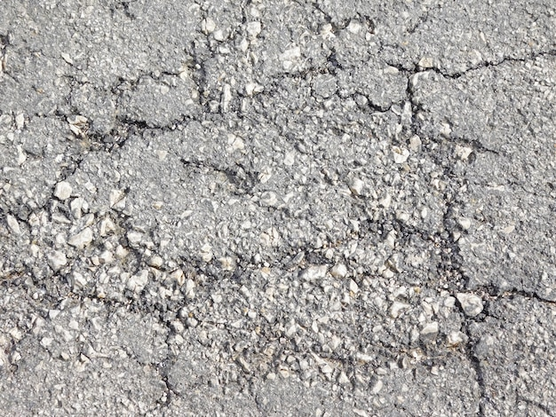 Textura de la carretera gris