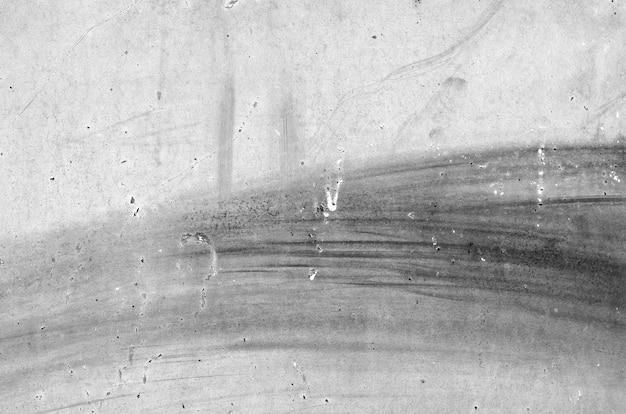 Textura de chapa de hierro lamentable gris oxidado.