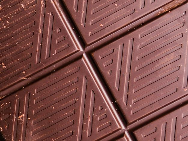 Textura de chocolate oscuro