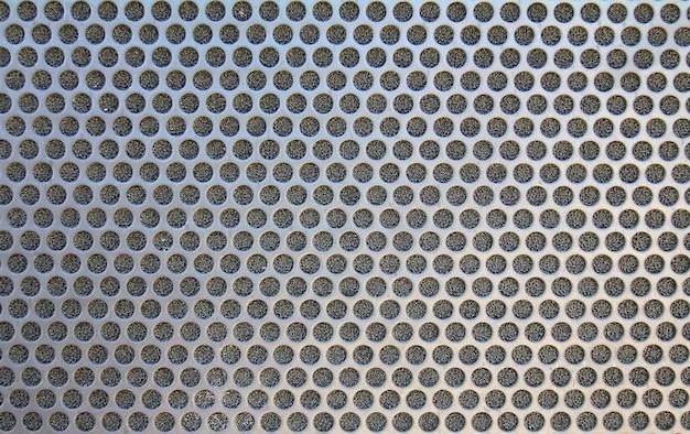 Textura de círculo de red de metal