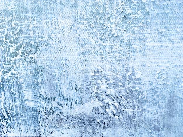 Textura del color de fondo azul claro de pintura del arte abstracto.