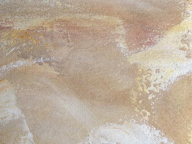 Textura de los colores amarillentos del arte abstracto.