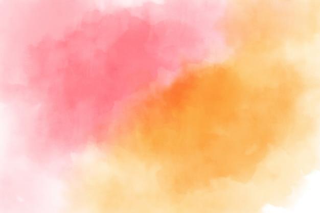 Textura colorida del fondo de la acuarela