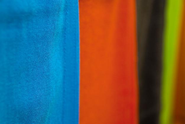 Textura colorida de tela