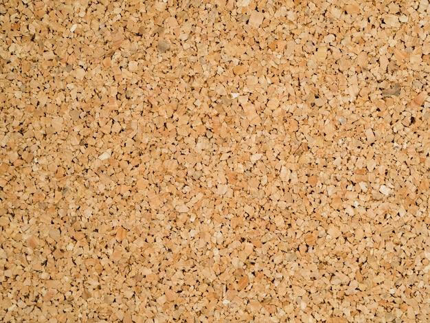 Textura de corcho marrón de primer plano