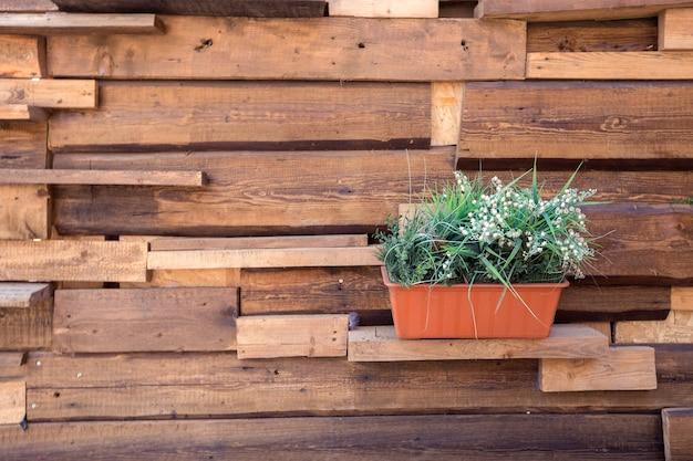 Textura de cosas de jardín de madera