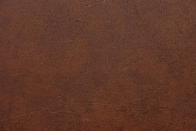 Textura de cuero marrón abstracto