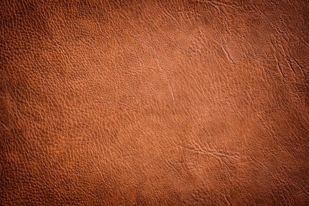 Textura de cuero marrón utilizado como fondo clásico de lujo