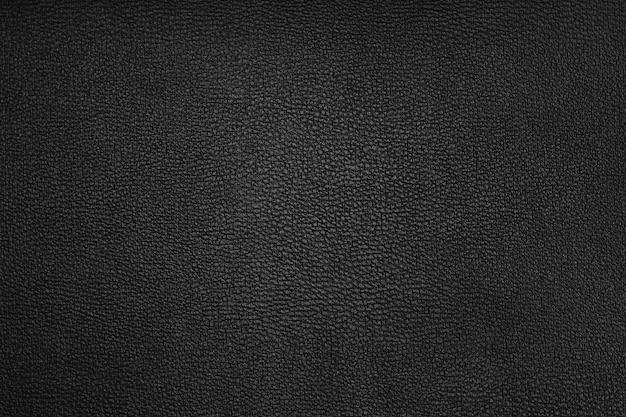 Textura de cuero negro para el fondo
