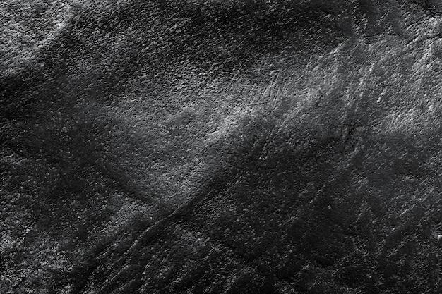 Textura de cuero negro