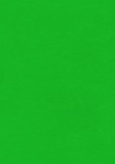 Textura de cuero verde