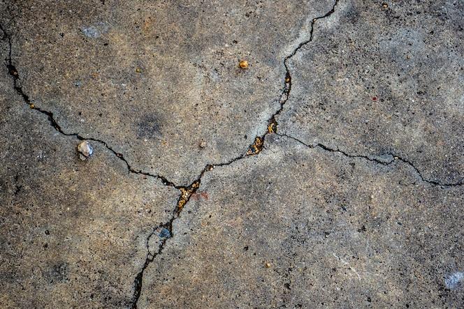 Textura de hormigón roto