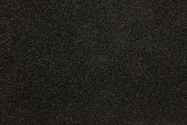 Textura de esponja sintética negra para el fondo