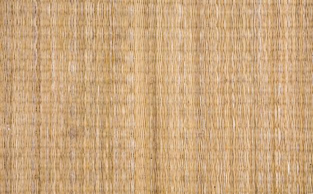 Textura de estera tejida a mano
