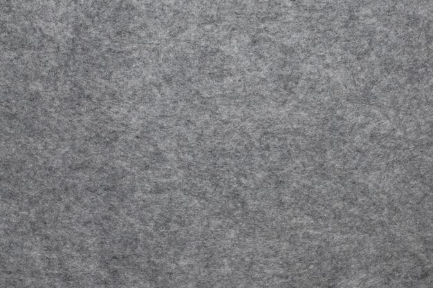 Textura de fieltro gris de cerca
