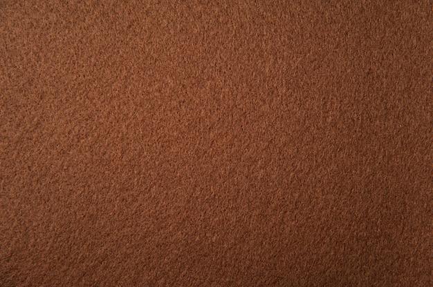 Textura de fieltro marrón claro