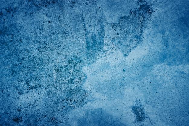 Textura de fondo abstracto azul muro de hormigón