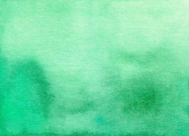 Textura de fondo de acuarela verde tranquilo ombre