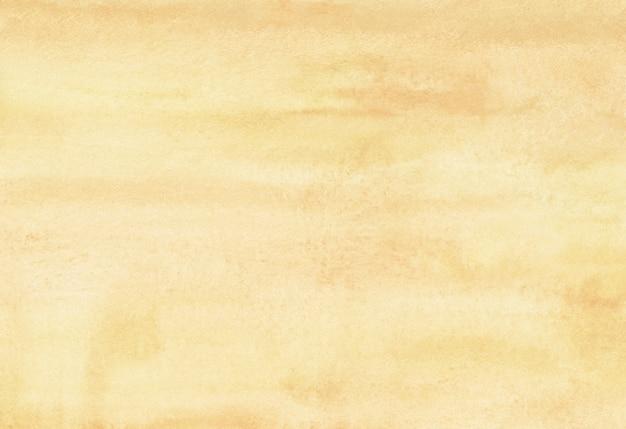 Textura de fondo amarillo claro acuarela.