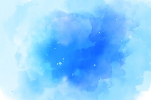 Textura de fondo azul acuarela
