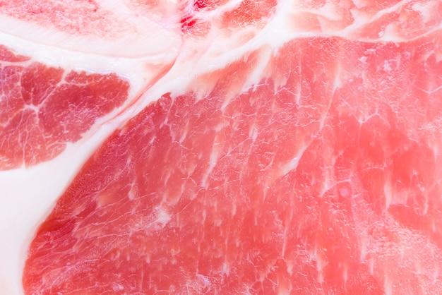 Textura de fondo de carne de cerdo