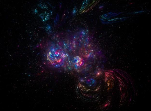 Textura de fondo del espacio exterior estrellado