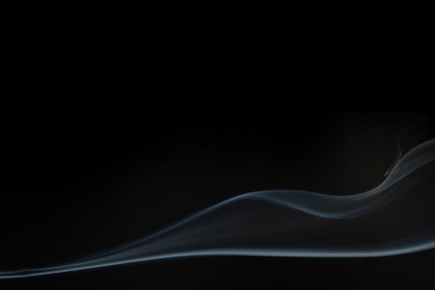 Textura de fondo de humo, diseño abstracto negro